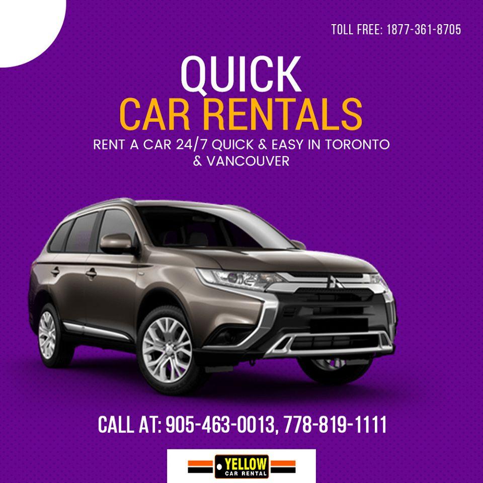 Special Car Rental in Vancouver