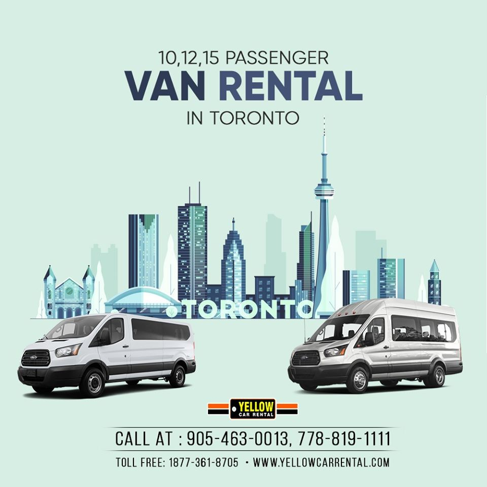 Van rental services in Toronto